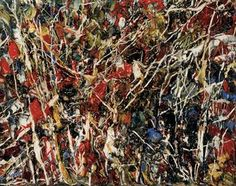Jean-Paul Riopelle, Sans titre, 1950 Canadian Painters, Canadian Art, Abstract Expressionism, Abstract Art, Joan Mitchell, Colour Field, Mosaic Patterns, Figure Painting, Fractals