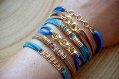 RESERVED Summer Bracelet by CorailMenthe on Etsy