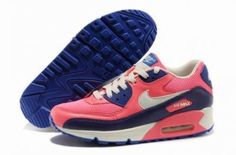 lowest price f097a 89fb7 Nike Air Max 90 azul   rosa   blanco http   www.esnikerun