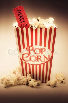 popcorn! make the container