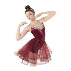 Weissman™ | Sequin Velvet Dress with Appliqués ❤ liked on Polyvore featuring dresses, velvet dress, red applique dress, sequin dresses, sequin velvet dress and red velvet dress