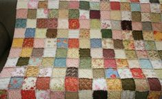 I started this quilt last Friday, on a whim, and I pulled it out of the dryer yesterday afternoon. It was such a quick project that it never...