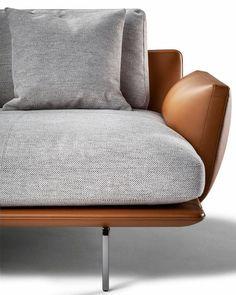 Sofa Furniture, Sofa Chair, Sectional Sofa, Modern Furniture, Furniture Design, Concrete Furniture, Steel Furniture, Farmhouse Furniture, Furniture Stores