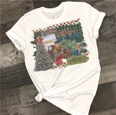 Excited to share this item from my shop: Christmas tree farm T Shirt - tshirt with saying -football mom tee - t-shirt sayings Handmade Christmas Tree, Christmas Tree Farm, Funny T Shirt Sayings, T Shirts With Sayings, Sports Shirts, Tee Shirts, Tees, Kitchen Humor, Gifts In A Mug