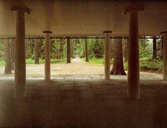 asplund / woodland chapel. Bosc de pilars.
