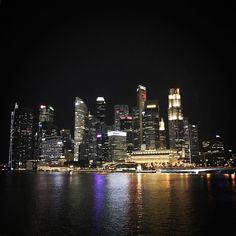 Skyline of #singapore #hothothot #firstday #hangover