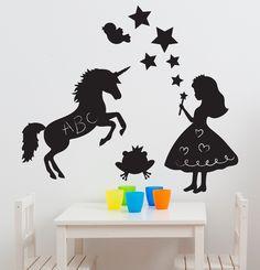 Magic Fairy Kingdom Chalkboard Wall Decals