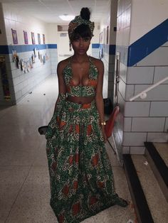 All Things Lovely In This Summer Outfit. The Best of casual fashion in 2017 30 Best Summer Outfits Stylish and Comfy All Things Lovely In This Summer Outfit. African Wear, African Attire, African Dress, African Style, Mode Ootd, Estilo Fashion, African Print Fashion, Ankara Fashion, African Beauty