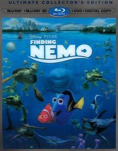 Finding Nemo [5 Discs] [Includes Digital Copy] [3D] [Blu-ray/DVD] [Blu-ray/Blu-ray 3D/DVD] [2003] - Front_Standard