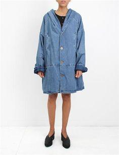 69 Hooded Big Boy Coat- Denim