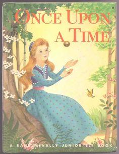 Vintage Children's Junior Elf Book Once Upon A Time | eBay