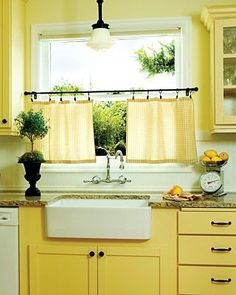 Great Petite Cafe Curtain Rod Kit In Black With Ball Finial, 03 0309P At The Home  Depot   Mobile | Pinterest |u2026