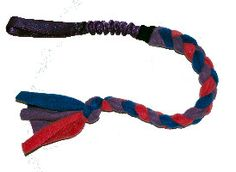 Tug-E-Nuff Dog Gear Bungee Handle Fleece Tug