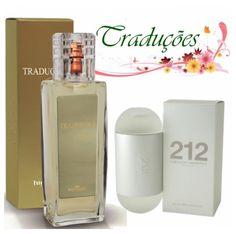 Gold nº 12 = 212 Carolina Herrera Inspirada no prefixo telefônico de Manhattan, é uma fragrãncia moderna e carismática e sensual. Composição floral e transparente, para as mulheres que possuem um estilo de vida transparente.
