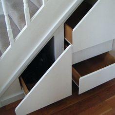 #KBHome Nice under stairs storage.