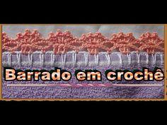 Nesta videoaula você vai aprender um mimoso Bico de crochê em carreira única, fácil e rápido de fazer. In this video lesson you will learn a dainty crochet nozzle in a single career, easy and quick to do.