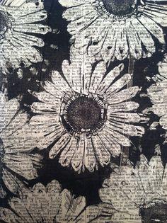 Gelly plate print