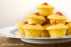Corn Dog Mini Muffins!