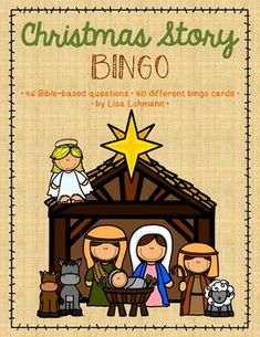 Review the events and people related to the birth of Jesus by playing bingo with your class at school, church, or home. This resource includes 40 different bingo cards and 46 questions/answers. A teacher's/leader's call sheet lists the 46 questions and answers.