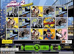 Komiksový příběh plný výher! http://www.vyherni-automaty-online.com/automaty-hry/jack-hammer-2-herni-automat #vyherniAutomaty #hry #vyhra #jackhammer2