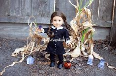 OOAK Halloween Gothic black and white party by TheEdwardianGirl