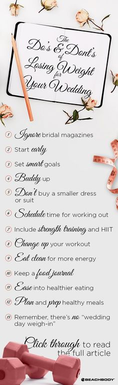 Want to lose weight for your wedding? First, read these wedding weight loss tips for success! how to lose weight // best ways to lose weight fast // Beachbody // Beachbody Blog // #weddingtips #howtoloseweight #weddingadvice #beachbody