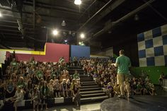 Another pic from the Kids Church Grand Opening. 134 kids today in the 11:00 service. Crazy!