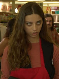Angela Sarafyan played the role of Egyptian vampire Tia in The Twilight Saga: Breaking Dawn – Part 2, the mate of vampire Benjamin.