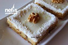 Elmalı Cevizli Pasta Tarifi