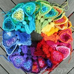 crochet colour wheel | by rettgrayson