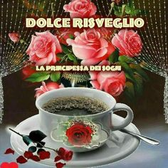 Animated Gif by Bobu Vasile Morning Coffee Images, Good Morning Coffee, Good Morning Friends, Good Morning Good Night, Good Morning Wishes, Good Morning Images, Good Morning Quotes, Morning Blessings, Morning Rose