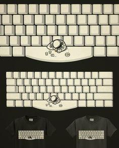 Love this spacebar tshirt!
