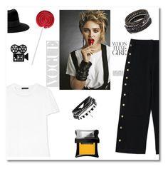 """Madonna"" by aniadratwicka on Polyvore featuring The Row, Chan Luu, Maison Michel, Illamasqua and Chanel"