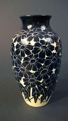 Dahlrose vase