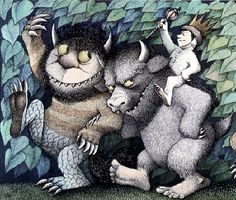 I just found out that I share a birthday with Maurice Sendak. Pretty cool.