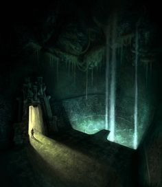 Environment Concept concept art from the video game Age of Conan: Unchained