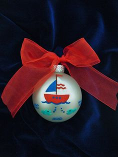 boat! First cruise ornament!
