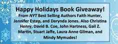 happy holidays book giveaway