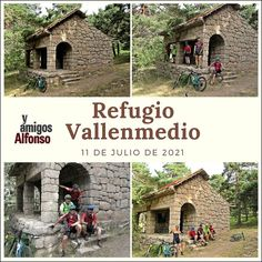 #AlfonsoyAmigos Cabin, House Styles, Home, Shelters, Paths, Naturaleza, Cabins, Ad Home, Cottage