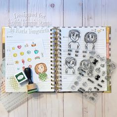 Karla Yungwirth Designs: Kraftin' Kimmie Stamps July New Release Sneak Peeks Day 1- Trendy Tees & Icons!