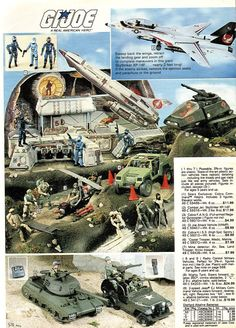 When I was a young boy, I was fascinated by the GI JOE cartoons and the military style toys associated with the series.  This caused me to ask Santa for the toys, and many times he delivered them on December 25th. Then  packaging would fly all around the family room, and instruction pamphlets would come into the picture.  I learned that if I wanted my toy to look like the picture on the box, that I would have to read and follow the instructions carefully for the correct assembly.