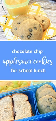 There's something about including a sweet treat to your kid's Rubbermaid LunchBlox® that turns everyday into something special. This recipe for Chocolate Chip Applesauce Cookies are no exception—they're the perfect addition to your back-to-school lunch meal prep plan.