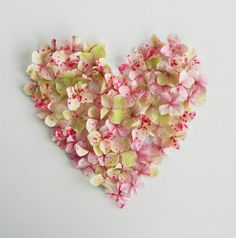 Flower heart by Ellen Giggenbach