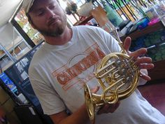 Piccolo French horn!! LOOK HOW TINY IT IS!!!!