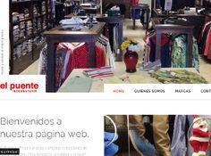 Sitio Web Indumentaria www.elpuenteweb.com.ar Shopping, Bridges