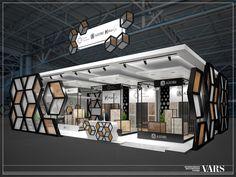 1 of Behance – Messestand – Exhibition Stand Exhibition Stall Design, Exhibition Display, Exhibition Stands, Exhibition Ideas, Kiosk Design, Display Design, Web Banner Design, Showroom Interior Design, Architecture Portfolio