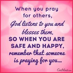 Someone is Praying for You #Inspirations