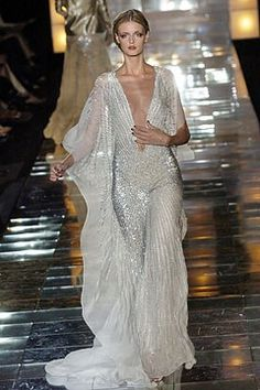 Elie Saab Fall 2004 Couture Fashion Show - Jacquetta Wheeler (Viva)