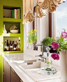 Оттенок шартрёз, названный в честь знаменитого ликера - Дизайн интерьеров   Идеи вашего дома   Lodgers