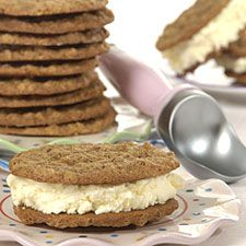 rounded, making them perfect for ice cream sandwiches. Oatmeal cookies ...